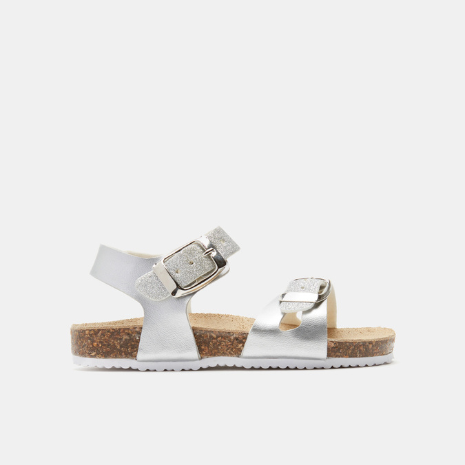 Sandales fille mini-b, Argent, 361-2434 - 13