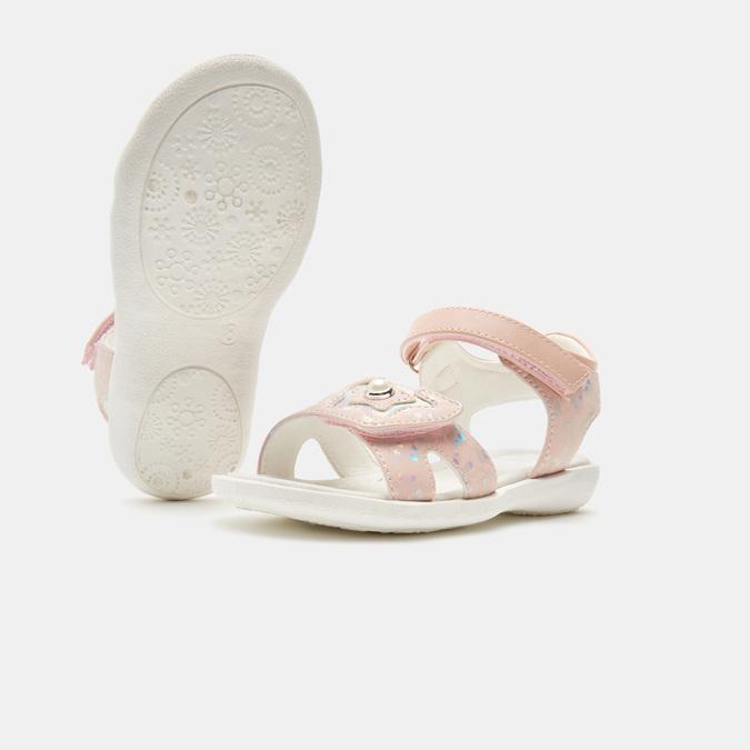Sandales fille mini-b, Rose, 261-5268 - 17
