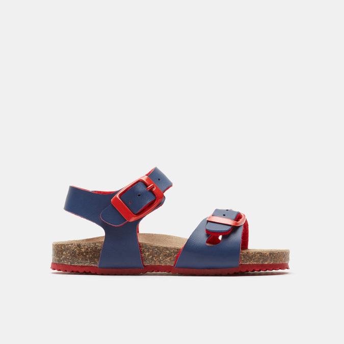 Sandales garçon mini-b, Bleu, 261-9433 - 13