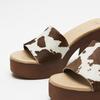 Sandales à plateforme bata, Brun, 764-4177 - 15
