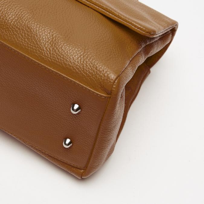 sac à main en vrai cuir bata, Brun, 964-3152 - 16