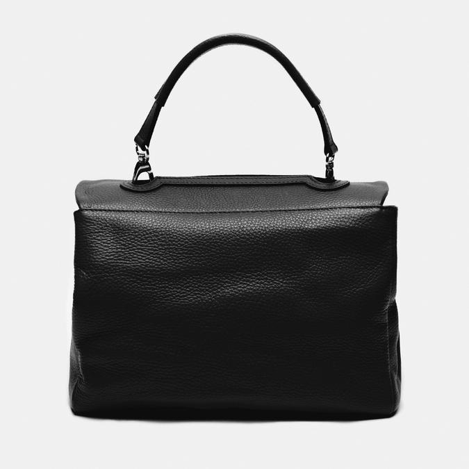 sac à main en vrai cuir bata, Noir, 964-6152 - 26