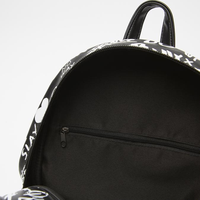 sac à dos imprimé femme bata, Noir, 961-6135 - 17