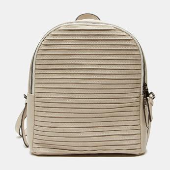 sac à dos à effet matelassé visible bata, Beige, 961-8188 - 13