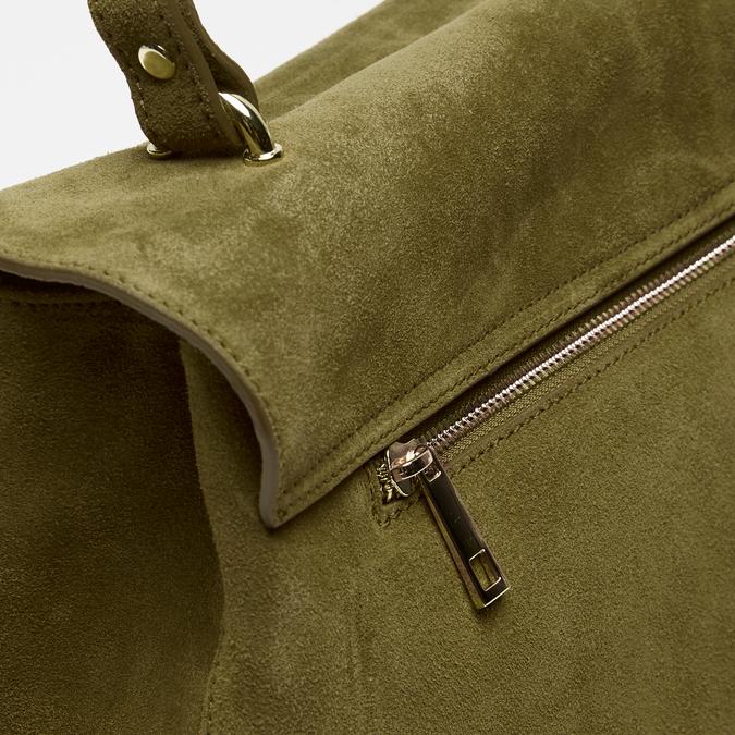 sac à main en suède bata, Vert, 963-7109 - 26