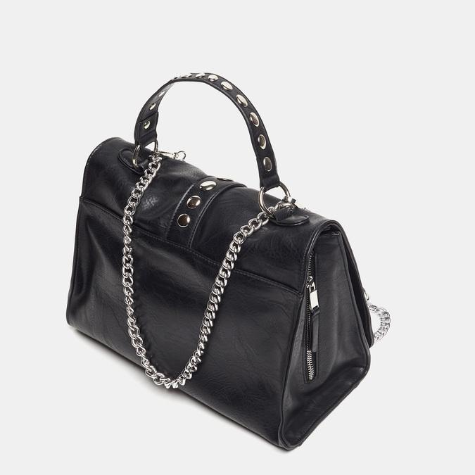 sac à main clouté à chaînette bata, Noir, 961-6247 - 16