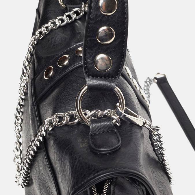 sac à main clouté à chaînette bata, Noir, 961-6247 - 15