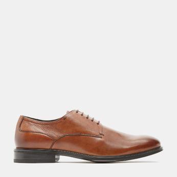 chaussures basses en cuir homme bata-24h, Brun, 824-3110 - 13