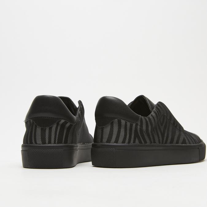 baskets à imprimé zèbre bata, Noir, 531-6142 - 15