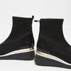 baskets hautes compensées bata, Noir, 699-6144 - 15