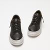 baskets à plateforme avec détail animalier bata, Noir, 541-6445 - 26