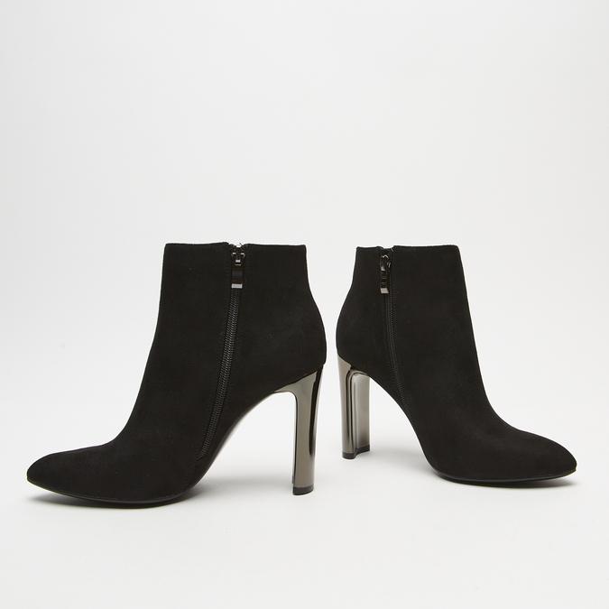 bottines à talons larges femme bata, Noir, 799-6821 - 16