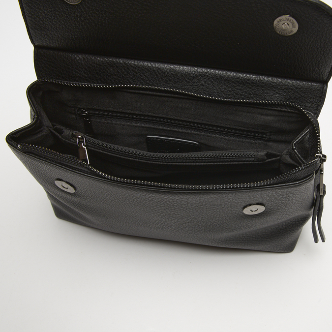 sac à bandoulière clouté bata, Noir, 961-6144 - 17