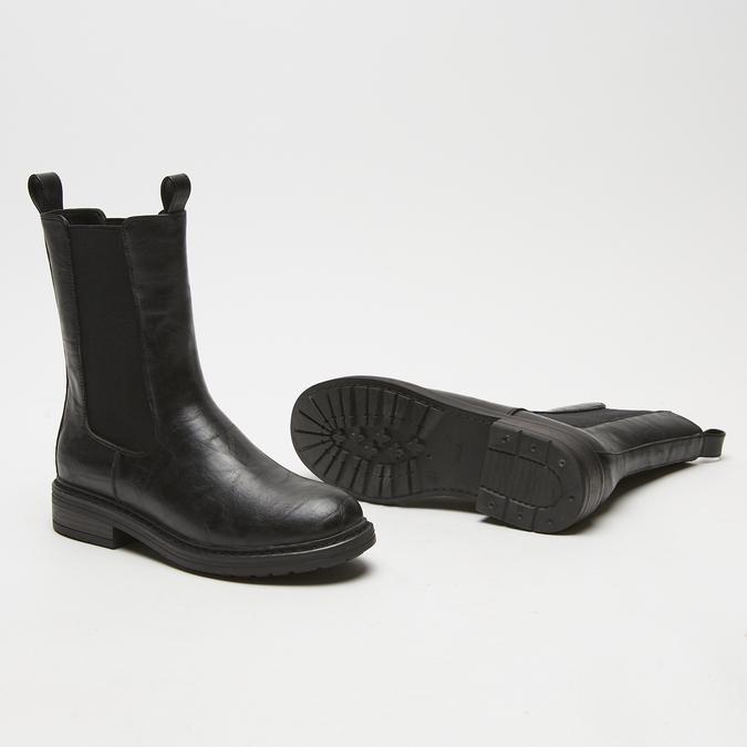bottes chelsea femme bata, Noir, 591-6473 - 19