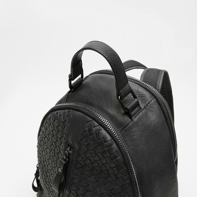 sac à dos en cuir éco matelassé bata, Noir, 961-6807 - 15
