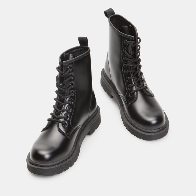bottines à semelles style track femme bata, Noir, 591-6506 - 17