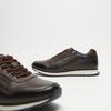 baskets en cuir à fermeture éclair latérale bugatti, Gris, 844-2230 - 15