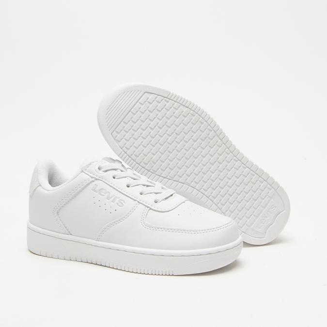 baskets Levi's à plateforme levis, Blanc, 311-1112 - 19