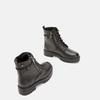 bottines à semelle track et fermeture éclair mini-b, Noir, 391-6288 - 16