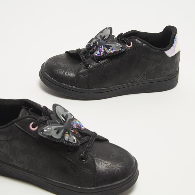 baskets plates fille bata, Noir, 311-6365 - 15
