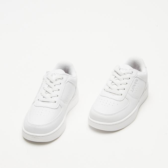 baskets Levi's à plateforme levis, Blanc, 311-1112 - 26