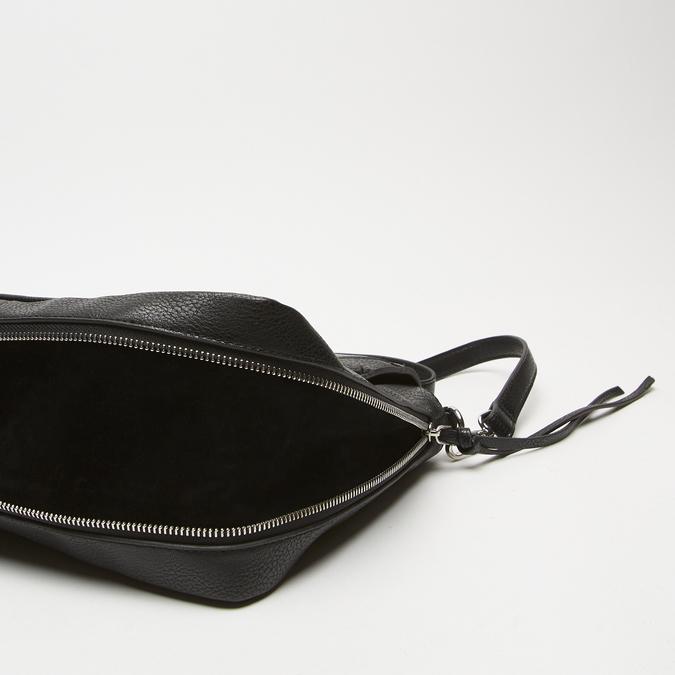 sac à main avec détails animaliers bata, Noir, 961-6255 - 17