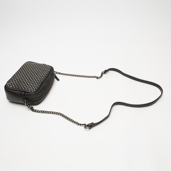 sac à bandoulière clouté bata, Noir, 961-6356 - 15