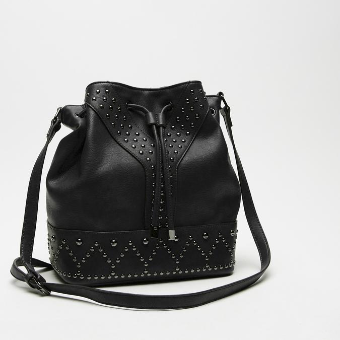sac bucket clouté bata, Noir, 961-6149 - 16