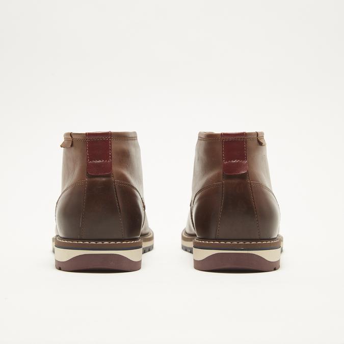 chaussures en cuir homme bata, Brun, 824-4121 - 17