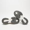 baskets avec détails en knit bata, Argent, 549-1844 - 19