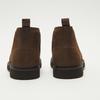 Desert boots en nubuck à semelle effet track bata, Brun, 896-3277 - 17