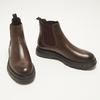 bottines en cuir à semelle robuste bata, Brun, 894-4559 - 16