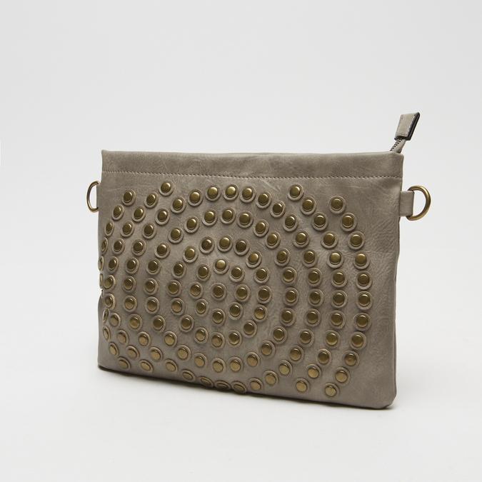 sac clutch clouté bata, Jaune, 961-8476 - 16