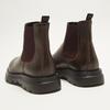 bottines en cuir à semelle robuste bata, Brun, 894-4559 - 17