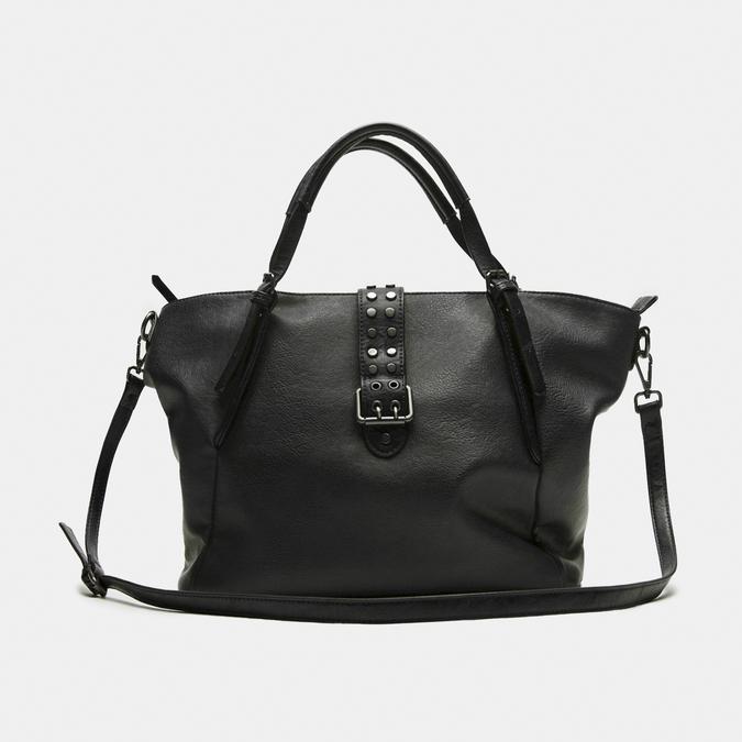 sac cabas à détail clouté bata, Noir, 961-6403 - 13