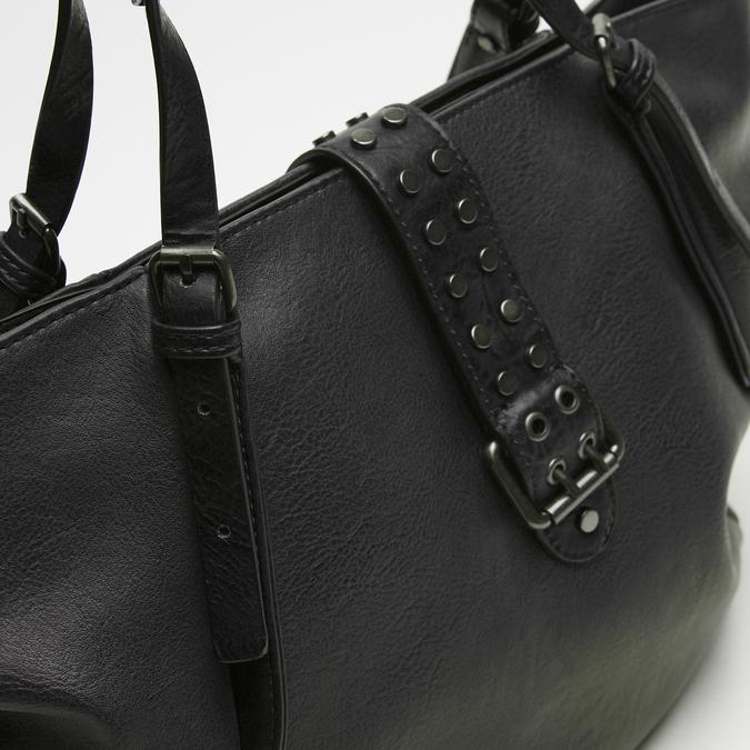 sac cabas à détail clouté bata, Noir, 961-6403 - 26