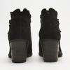 bottines à talons larges et fermeture éclair latérale bata, Noir, 793-6168 - 26