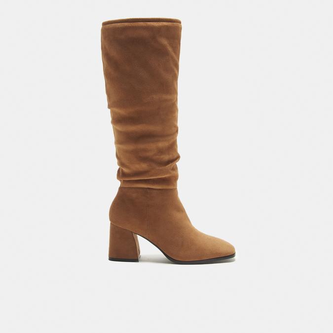 bottes en-dessous du genou à talons larges bata, Brun, 799-3421 - 13